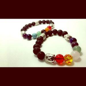 Jewelry - 7 Chakra Buddha Bracelet